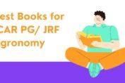 Best Books for ICAR PG/ JRF Agronomy
