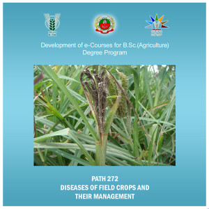 Diseases of Field Crops and Their Management Cover