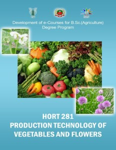 Production Technology of Vegetables cover1