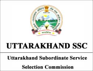 UTTARAKHAND-SSC